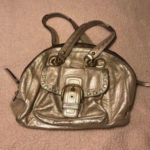 Coach Handbag (Gold)